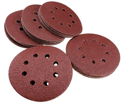 50pcs-hook-and-loop-discs-orbit-sanding-sandpaper-125mm-8-bores-40-60-80-100-120-grit