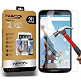 Nexus 6 Screen Protector, InaRock 0.26mm Premium Tempered Glass Screen Protector for Google Nexus 6 Anti-Scratch,Bubble Free, Explosion-Proof and Pressure-Resistant Function - Retail Packaging