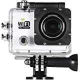 """Alcoa Prime A10 + F02 Full HD 1080P 30FPS Sports Wifi Action Camera 2. 0"""" LCD 12MP 4X Zoom 140D Wide-Lens Mini..."""