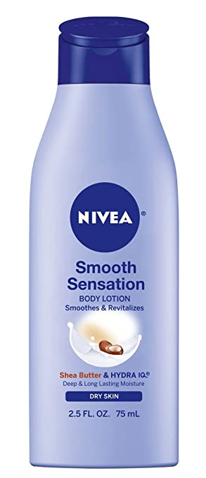 NIVEA Smooth Sensation Body Lotion, 2.5 Ounce (Pack of 6)