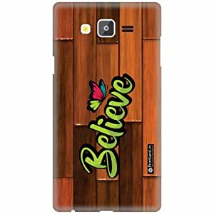 Printland Designer Back Cover for Samsung Galaxy On7 - Believe Case Cover