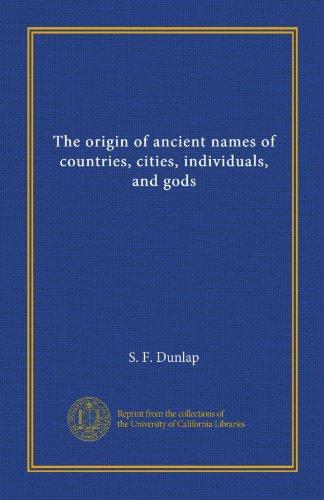 Country Origin Of Names