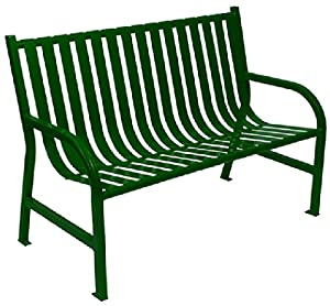 Witt Industries M4-BCH Oakley Collection Slatted Benches by Witt (48