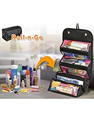 Mebelkart Roll-n-Go Jewellery & Cosmetics Organiser & Storage Travel Bag