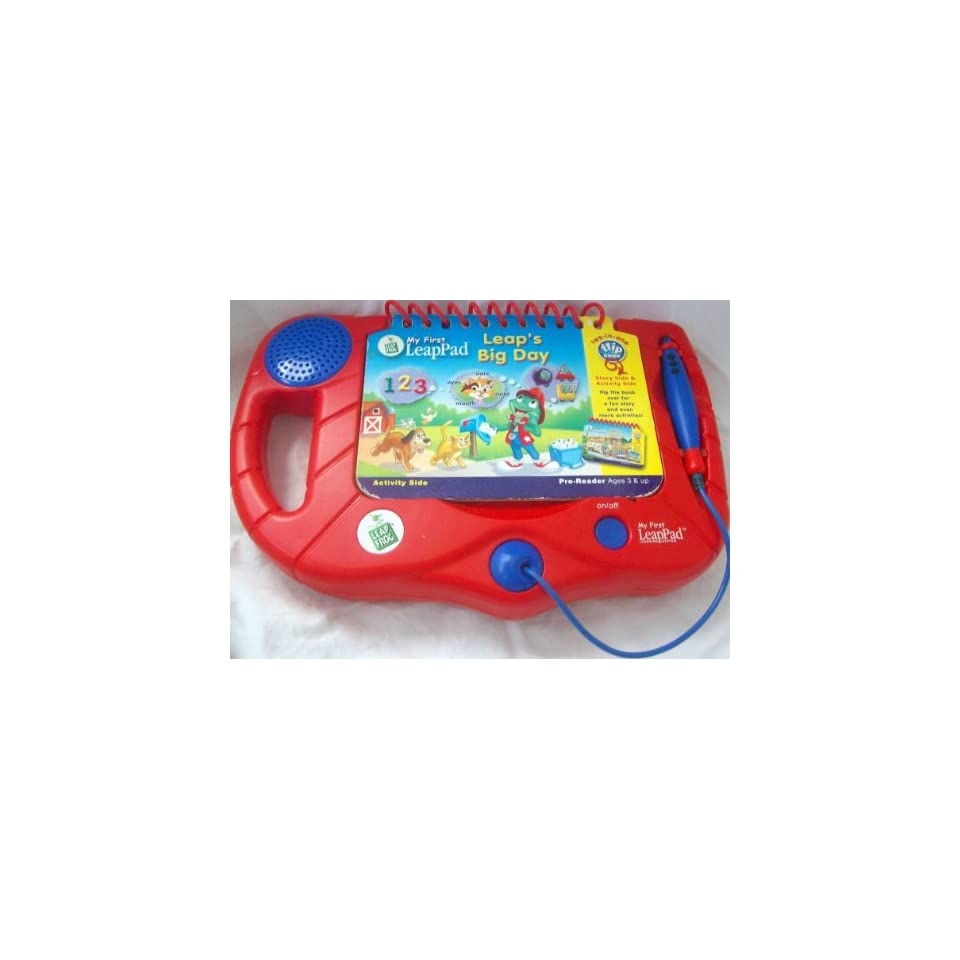 My First Leap Pad Learning System, Red, Leaps Big Day