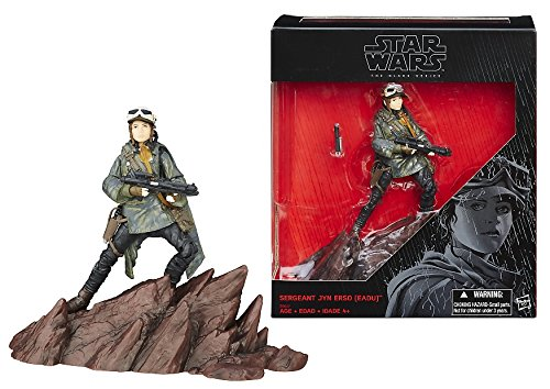 Star Wars Rogue One, The Black Series, Sergeant Jyn Erso Exclusive Action Figure, 6 Inches