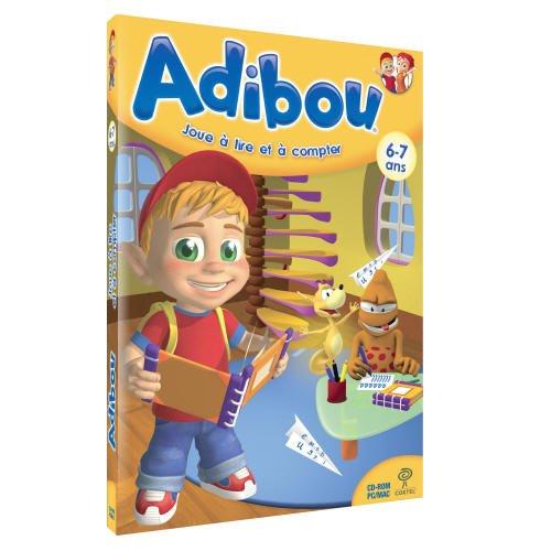 Adibou joue à lire et à compter 6-7 ans (vf - French software)