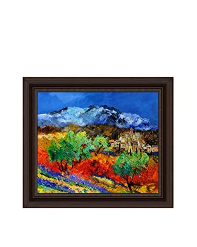 Pol Ledent Provence 791150 Framed Canvas Print