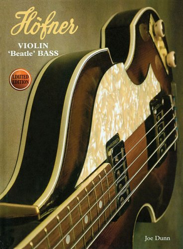 Höfner Violin Beatle Bass 2Nd Edition (Hardcover)