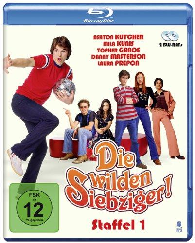 Die wilden Siebziger! - Die komplette 1. Staffel (2 Blu-rays)