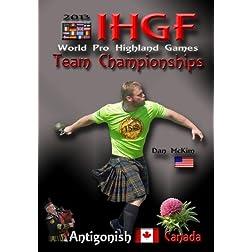 IHGF World Pro Highland Games Team Championships  2013