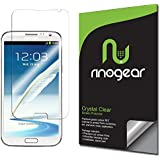 [3-Pack] RinoGear® - Samsung Galaxy Note 2 Screen Protector - Anti-Scratch, Anti-Fingerprint, Anti-Bubble, Ultra Invisible HD Clear Shield w/ Lifetime Replacements