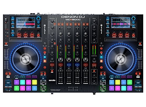 Find Discount Denon DJ MCX8000 Standalone DJ Player and Serato 4-Channel DJ Controller