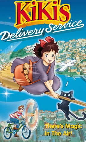 Cover art for  Kiki's Delivery Service [VHS]