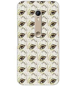 Printdhaba Eye Ptter D-5205 Back Case Cover For Motorola Moto X Style