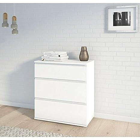 finlandek cómoda kiivas 77cm-blanco