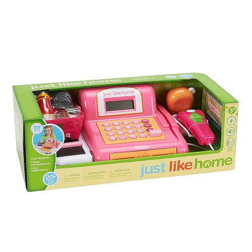 Just Like Home Toy Set : Just like home cash register toys games pretend play
