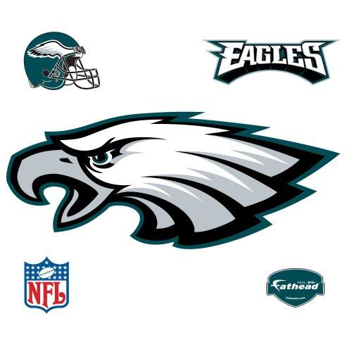 e1ce8ee15b Fathead Philadelphia Eagles Logo Wall Decal - EllisAshtonBZUL