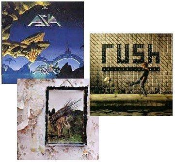 [Classic Rock 3Cd Pack] Led Zeppelin Iv (Aka Zoso) [Original Recording Remastered] / Rush - Roll The Bones / Asia - Aria