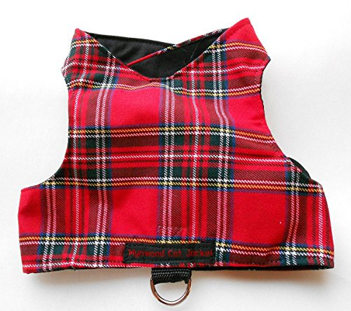 Mynwood-Cat-JacketHarness-Royal-Stewart-Tartan-Adult-Cat-Escape-Proof