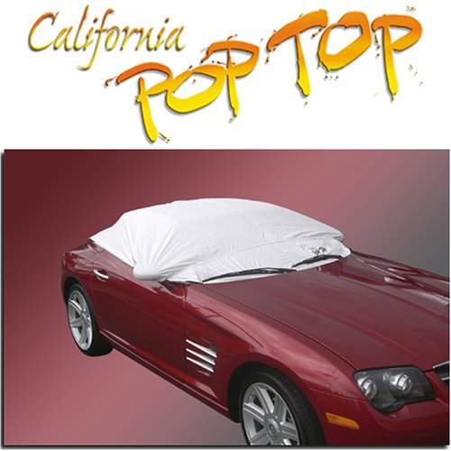 Chrysler Crossfire Roadster DuPont Tyvek PopTop Sun Shade, Interior, Cockpit, Car Cover. Use with Top UP or Down __SEMA 2006 NEW PRODUCT AWARD WINNER__
