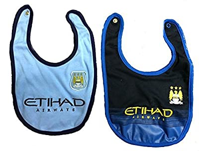 Manchester City Baby (Infant) Bibs 2014 - 2015