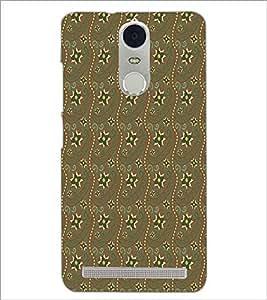 PrintDhaba Pattern D-5271 Back Case Cover for LENOVO K5 NOTE (Multi-Coloured)