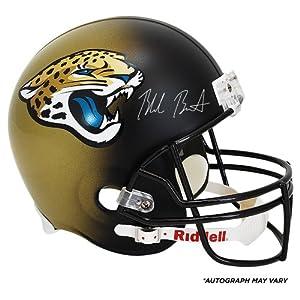 Blake Bortles Jacksonville Jaguars 2014 NFL Draft Autographed Riddell Replica Helmet... by Sports Memorabilia
