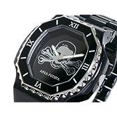 アルカフトゥーラ 腕時計 ドクロ SKSS-BK