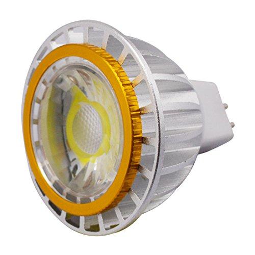 Grexistar 3W Mr16 Cob Led Spot Light Cool White Ac Dc 12V Energy Saving