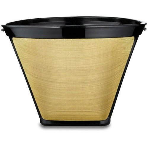 Bonavita Coffee Maker Gold Filter : Bonavita BV1800TH 8 Cup Coffee Maker With Thermal Carafe + Gold Tone Basket Coffee Filter ...