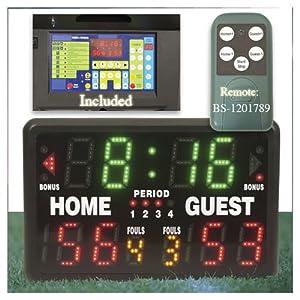 Buy Gamecraft Indoor and Outdoor Superbrite Scoreboard by Gamecraft