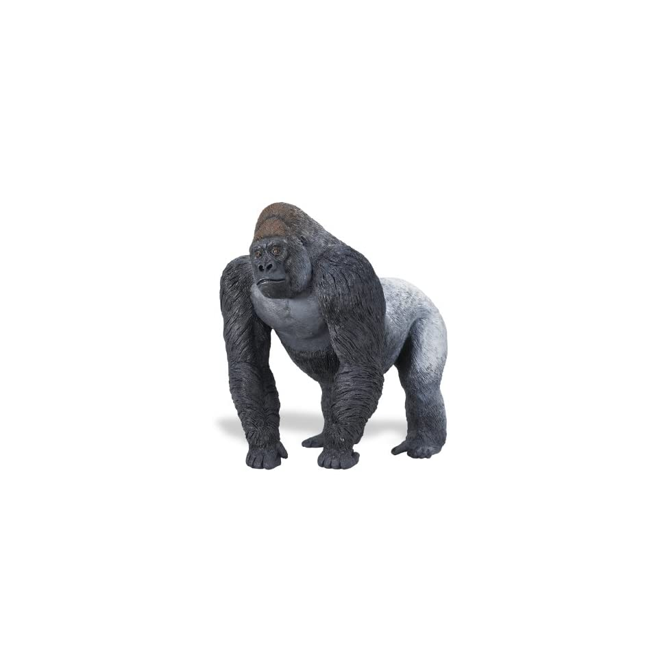 ba5c9b17bbb119 Safari Ltd WW Silberrücken Gorilla Spielzeug on PopScreen