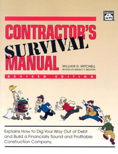 Contractors' Survival Manual - Mitchell - Craftsman Book Co - CR206 - ISBN: 1572181729 - ISBN-13: 9781572181724