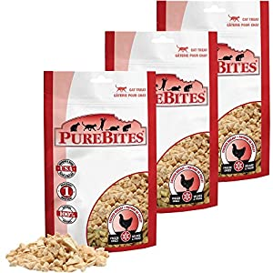 Purebites Chicken Breast Cat Treat 3 PACK (1.80 oz)