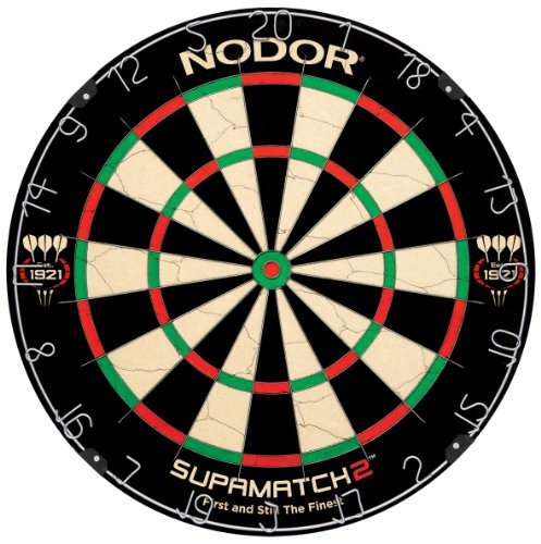 Read About Nodor SupaMatch2 Bristle Dartboard