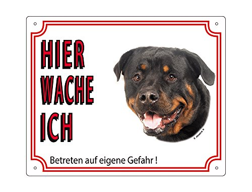 nobby-93212-warntafel-rottweiler