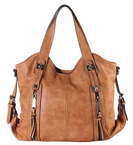 diophy-double-front-pockets-hobo-handbag-cz-3725-camel