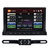 7 2 Din In-Dash Car DVD Player Rear Camera GPS WiFi 3G With Digital TV+ Android 2.3 PAD/Tablet Free Map 2501GDR