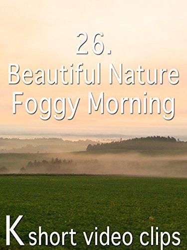 Clip: 26.Beautiful Nature--Foggy Morning