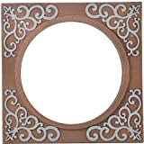 Shreenath Wooden Mirror (SH117, Copper)