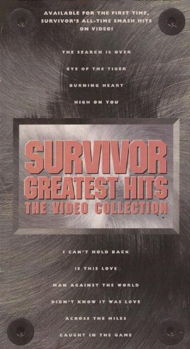 Survivor - Greatest Hits [VHS] - Zortam Music