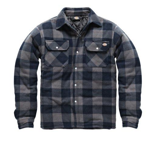 dicsh5000-b-m-dickies-portland-shirt-blue-grey-medium