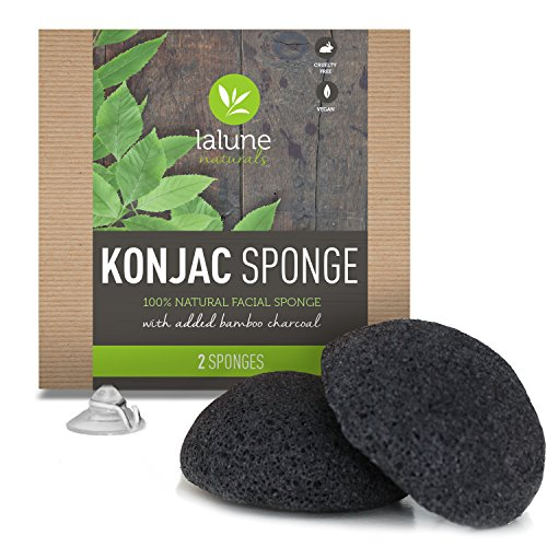 konjac-sponge-2-pack-activated-charcoal-konjac-facial-sponge-free-all-natural-skin-care-ebook-suctio