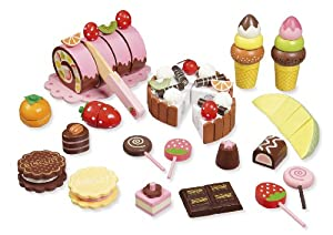 "wooden toy shop accessories ""Sweets"" by howa 4854"