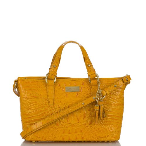 Mini Asher Tote<br>Melbourne Saffron