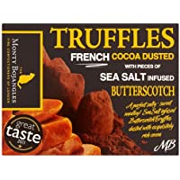 Monty Bojangles Sea Salt and Butterscotch Truffles 150 g (Pack of 4)