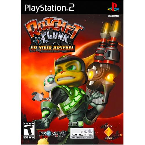 Ratchet & Clank Up Your Arsenal - Playstation 2 front-995005