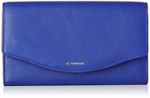Le Tanneur Valentine Ttv3601, Portamonete, Blu (Bleu (B3)), taglia unica