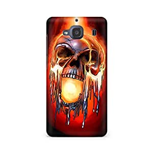 Mobicture Skull Paint Premium Printed Case For Xiaomi Redmi 2s